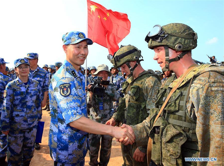 Image result for china vs russia army