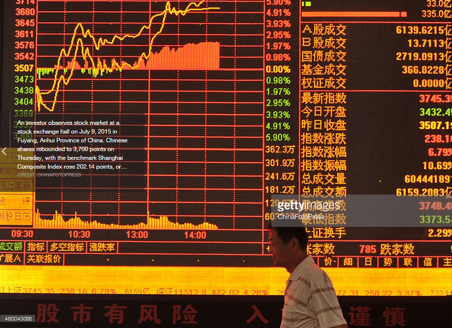 The Short and Long of China's Stock Market Crash - CHINA US