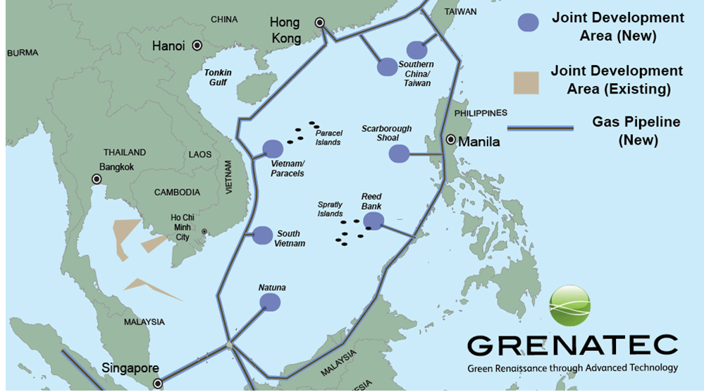 Map Of China And Southeast Asia.China S Southeast Asian Infrastructure Drive China Us Focus
