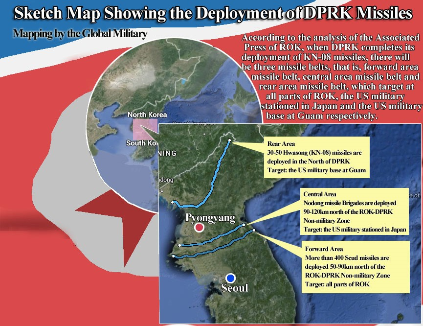 THAAD In ROK Potential Harm Outweighs Benefits CHINA US Focus - North korea map of us targets