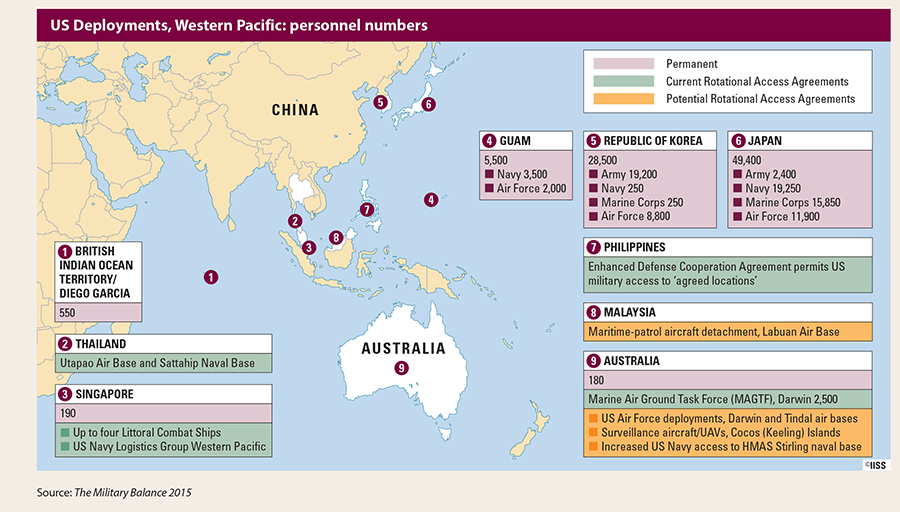How Beijing Is Countering Us Strategic Primacy China Us Focus - Us-navy-bases-worldwide-map
